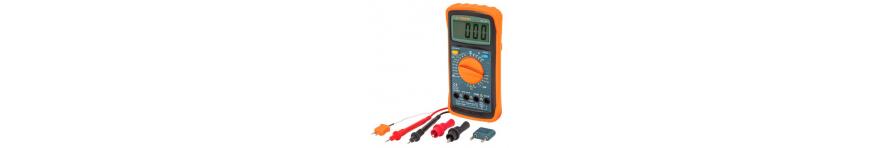 Multimetros, Capacimetros y Amperimetros