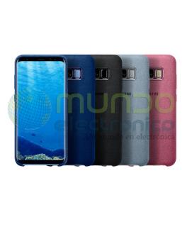 Funda Samsung alcantara S8 plus