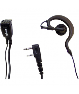 Telecom PY-29K Micro-auricular ergonómico para kenwood, team y HYT