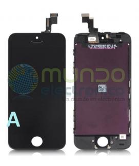 Iphone 5S - Pantalla completa calidad A negra