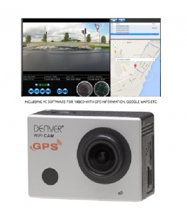CAMARA DE ACCION FULL HD CON WIFI Y GPS
