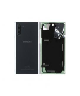 Samsung Note 10 (N970) - Tapa trasera + cámara cover Negro