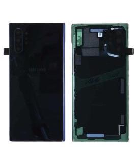 Samsung Note 10+ (N975) - Tapa trasera + cámara cover Negro