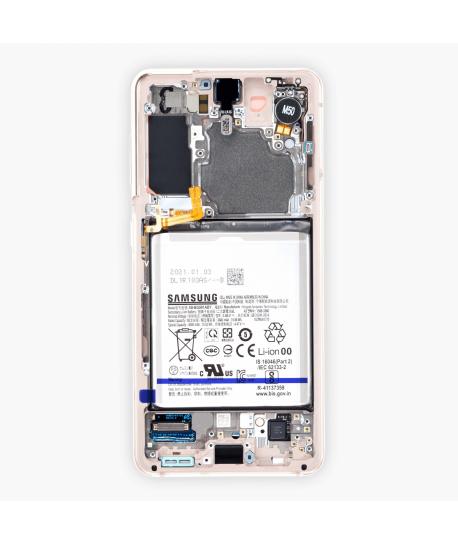 Samsung S21 5G (G991B) - Pantalla Completa con Batería, Cámara frontal y Vibrador (Original)