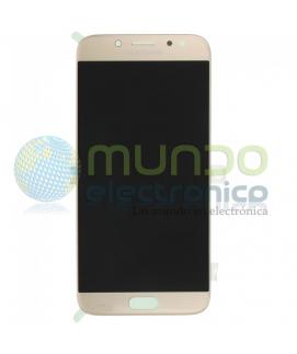 Samsung J7 2015 (J700) - Pantalla completa original dorada