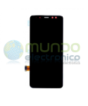 Samsung A8 (A530) - Pantalla completa original negra